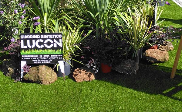 Lucon, giardini in erba sintetica